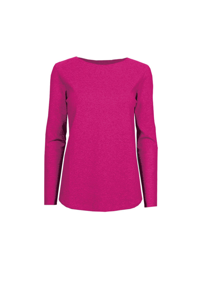 Fenne Tricot Top, Hot Pink