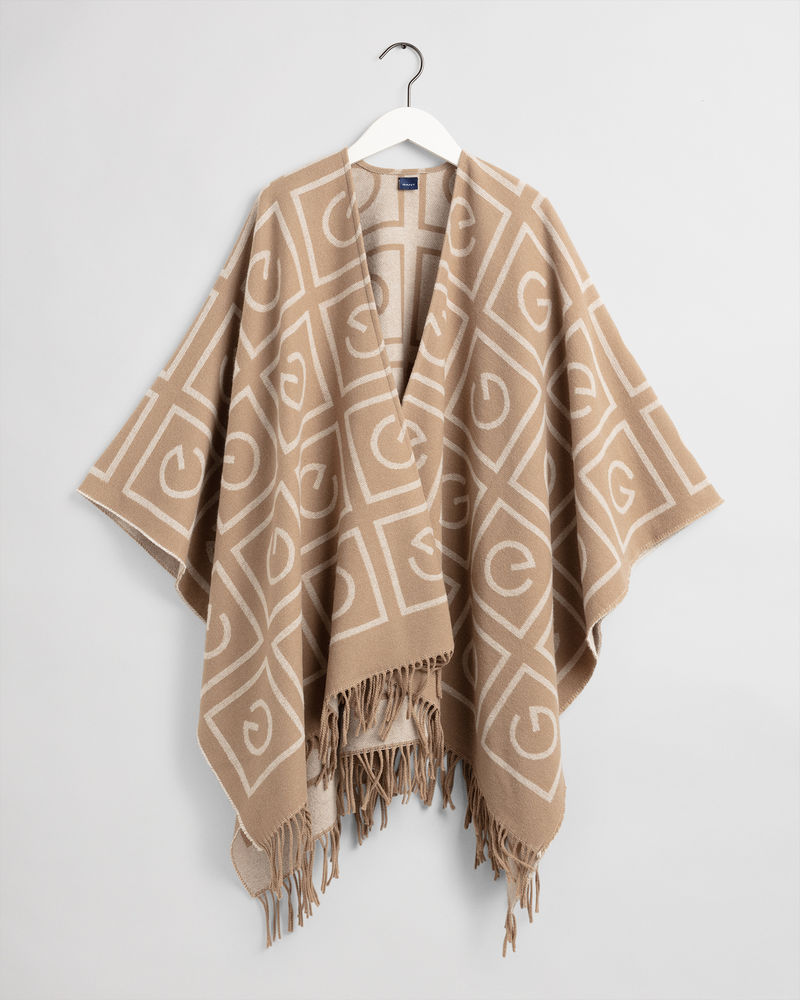 Icon G Poncho, Warm Khaki