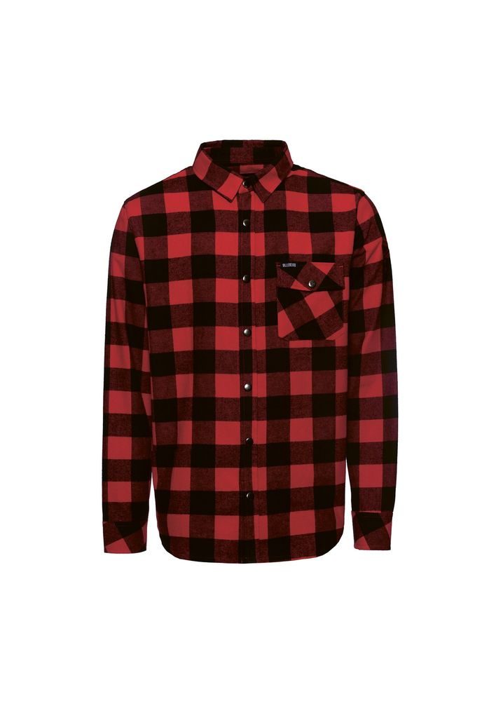 Lumberjack Flanel Shirt, Red/Black
