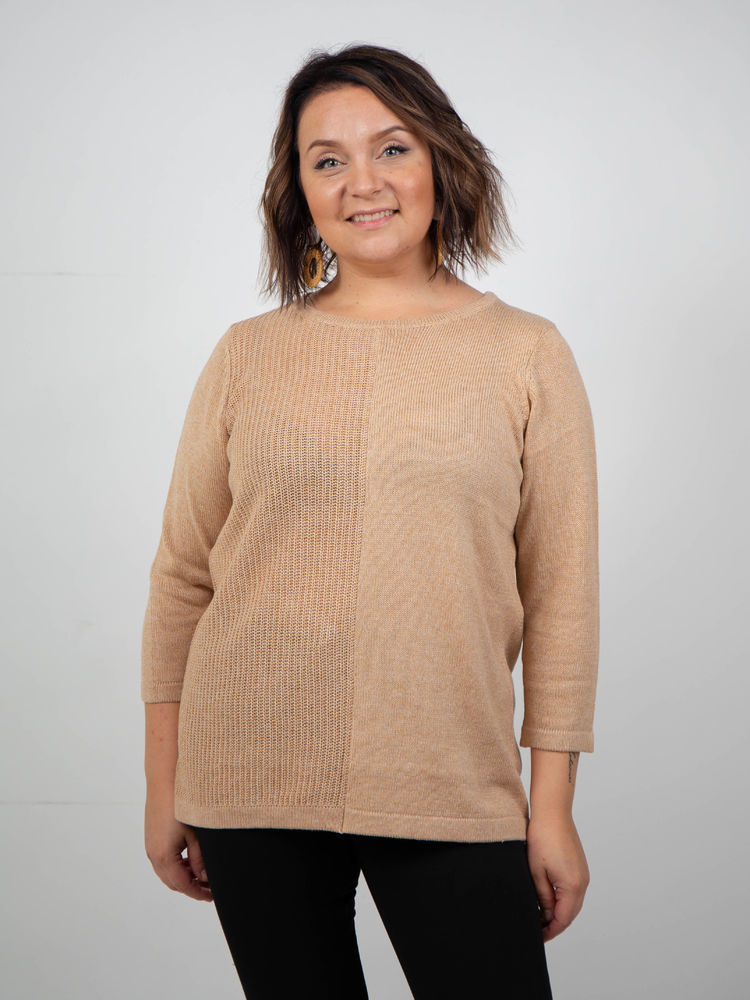 Pilar Knit, Light Camel