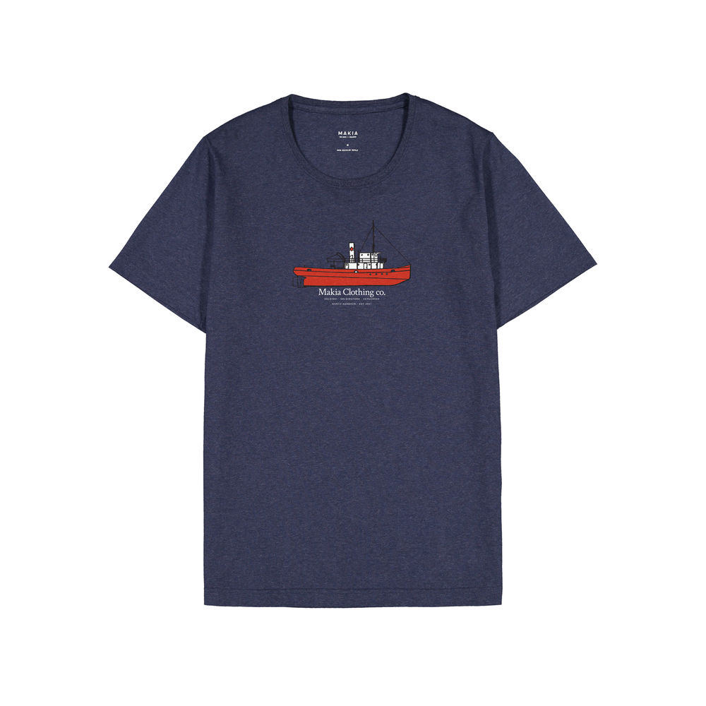 Steamboat T-shirt, Blue