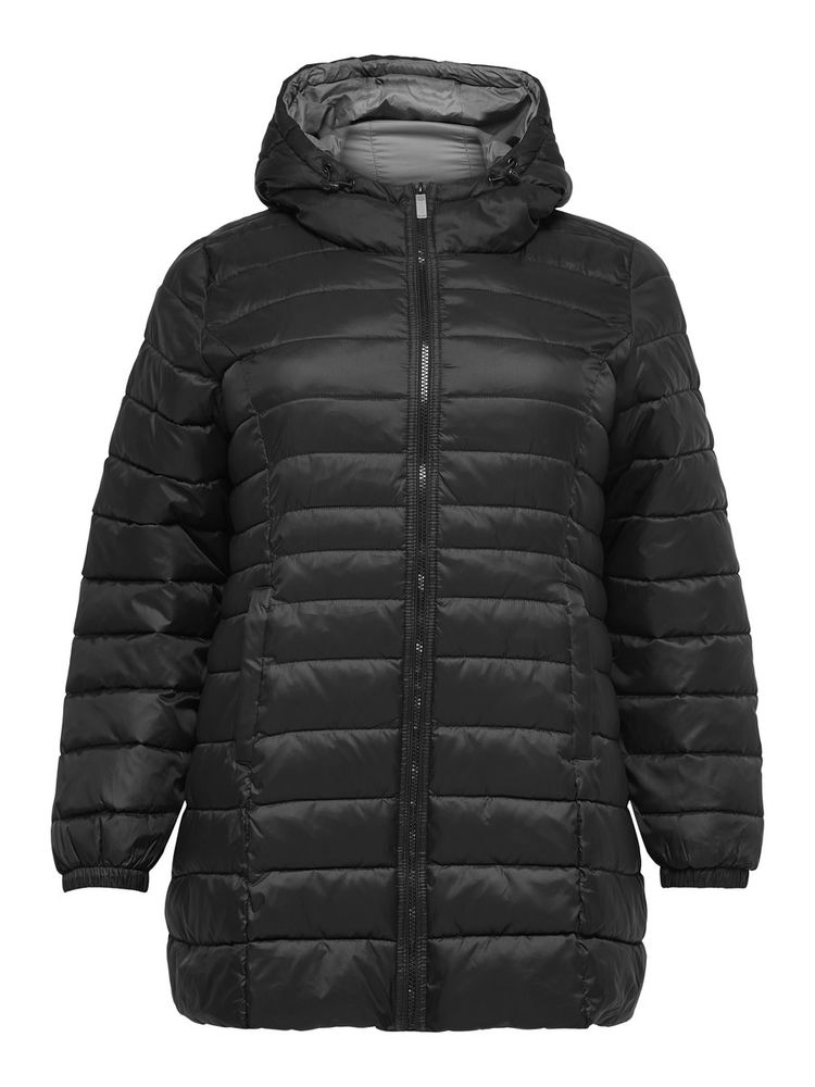 Tahoe Quilted Coat, Black