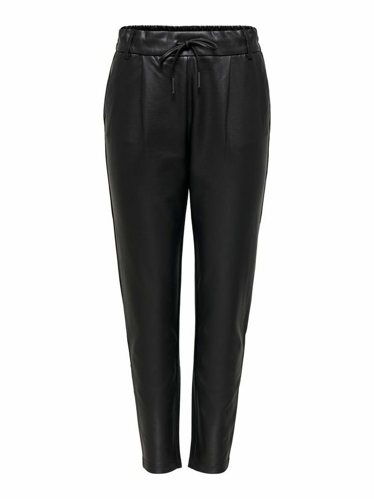Poptrash Easy Coated Pants, Black