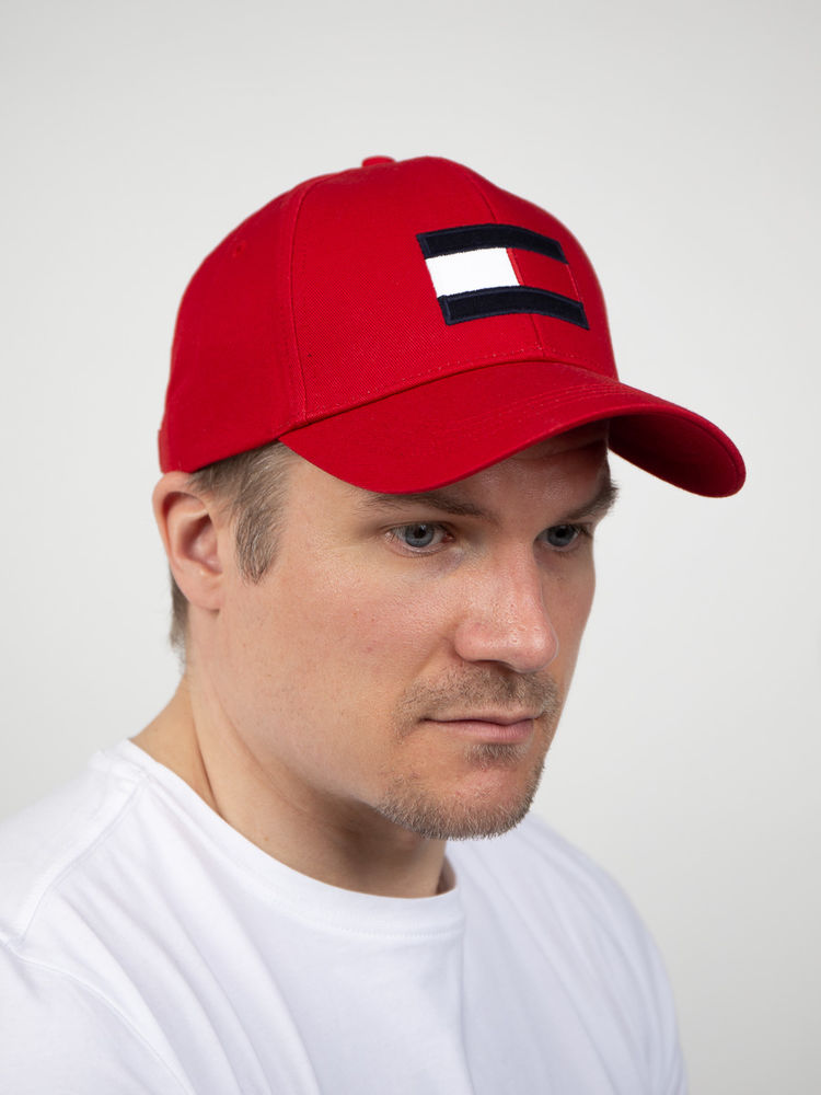 TH Logo Big Flag Cap, Primary red