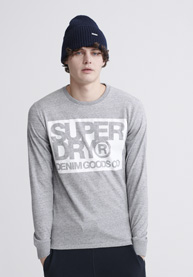 Denim Goods Co Print Long Sleeve T-Shirt