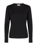 Katie Pullover Button, Black