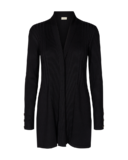 Claudisse Long Cardigan, Black