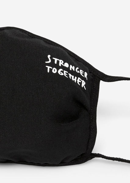 Stronger Together Mask, Black