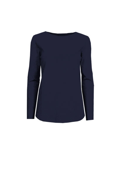 Fenne Tricot Top, Ink Blue