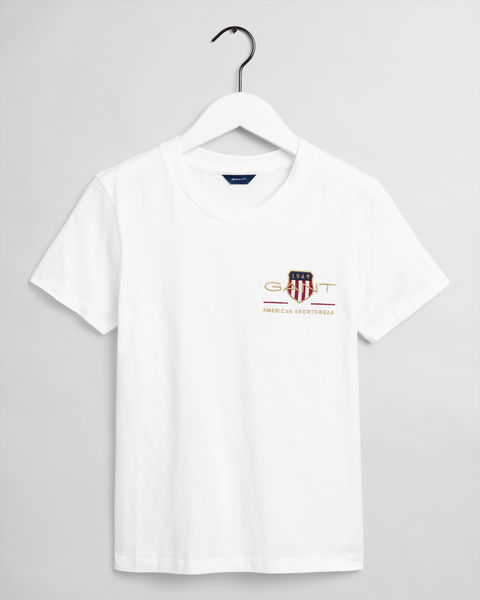 Archive Shield T-shirt, White