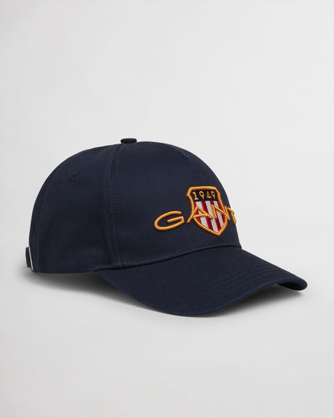 Archive Shield Cotton Cap, Marine