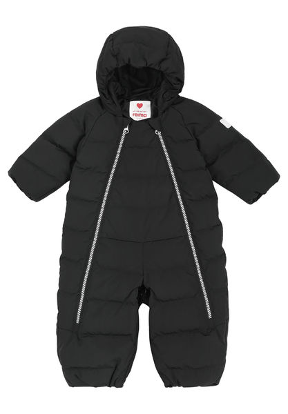 Honeycomb Down Overall, Black