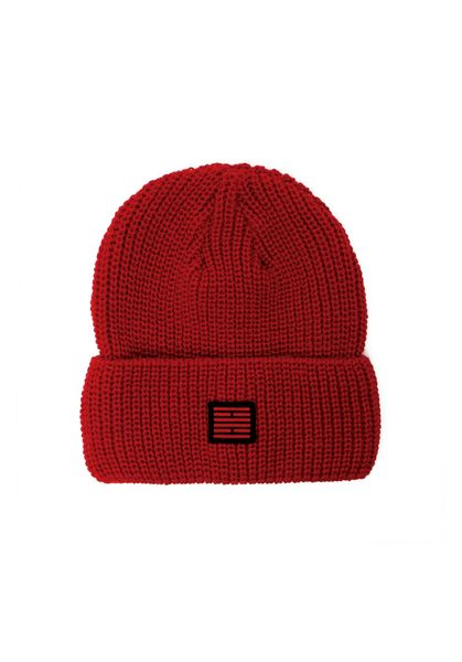 Fisherman Beanie, Red
