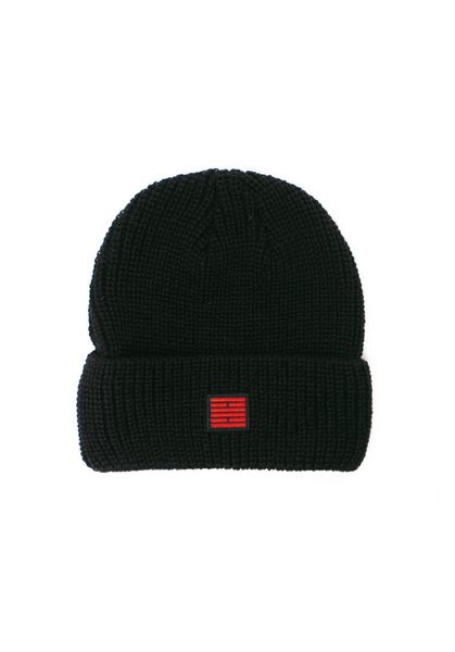 Fisherman Beanie, Black