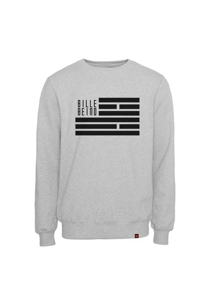 Flag Sweatshirt, Grey