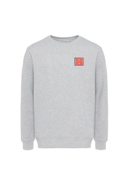 University Sweatshirt, Grey Melange