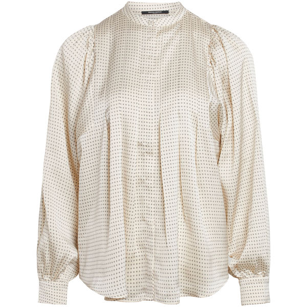 Acacia Eadie Shirt, White Cream AOP