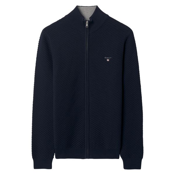 Triange Texture Full Zip