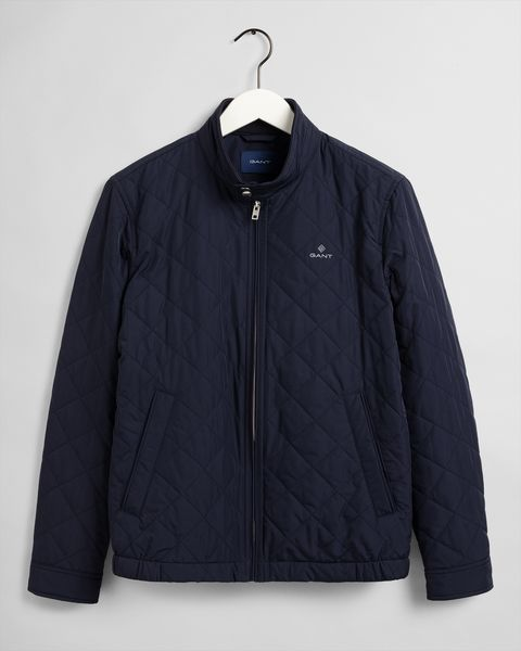 Quilted Windcheater, Evening Blue