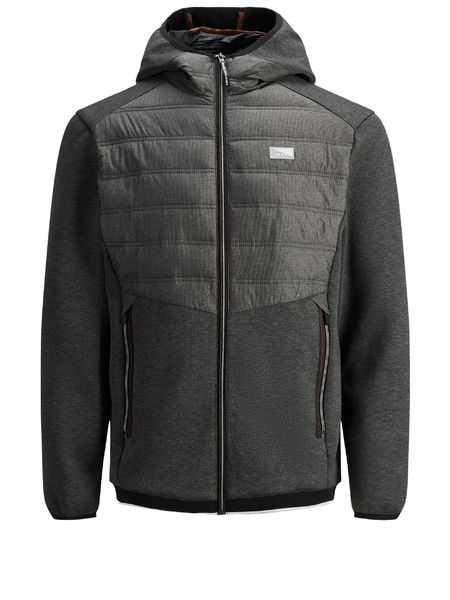 Toby Hybrid Jacket jr, Black