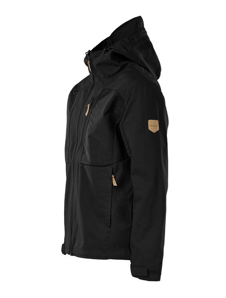 Men Outdoor Jacket, Black