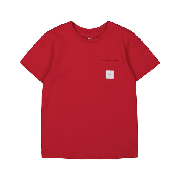Pocket T-shirt, Red