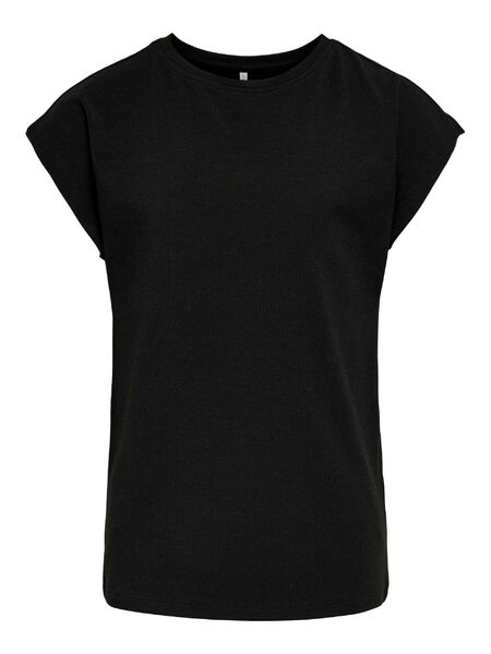 Moster Jersey Top, Black