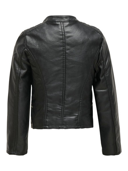 Freya Faux Leather Biker