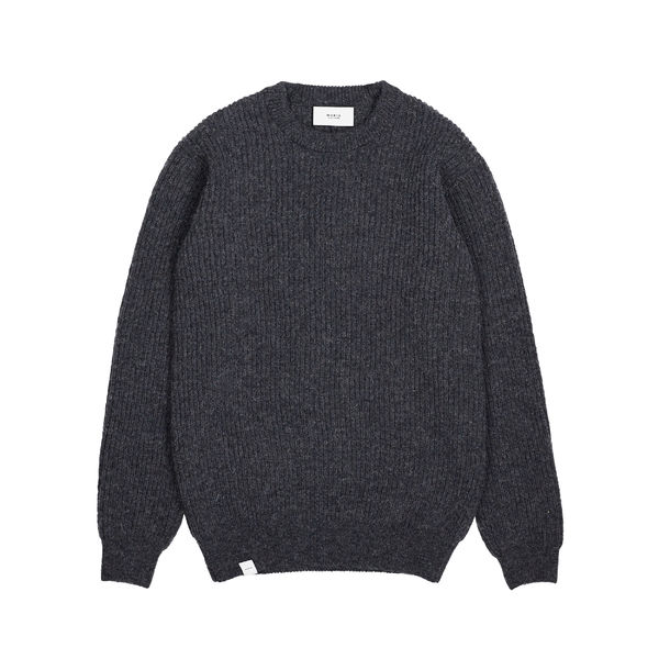 Runar Knit, Dark Grey