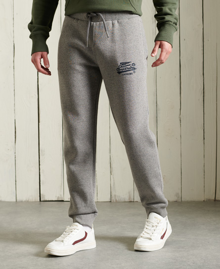 Military Graphic Jogger, Grey Grit