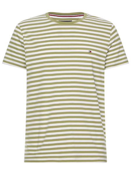 Stretch Slim Fit Tee, Rural Green