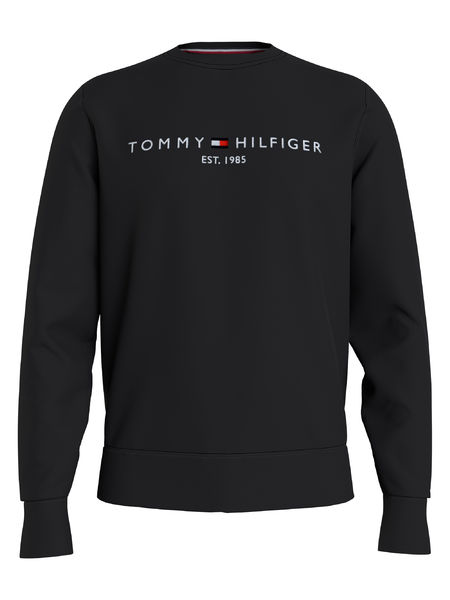 Tommy Logo Sweatshirt, Black