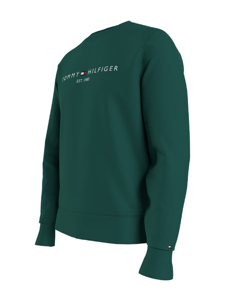 Tommy Logo Sweatshirt, Rural Green