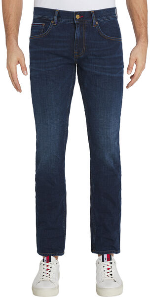 Denton Straight Faded Jeans.  Bridger Indigo