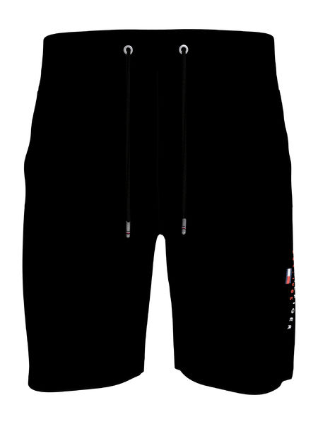 Essential Tommy Sweatshorts, Black