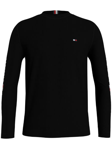 Essential Tommy L/S Tee, Black