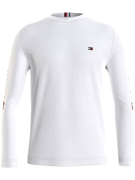 Essential Tommy L/S Tee, White