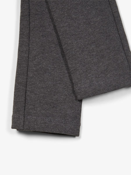 Davina Solid Sweat Legging, Dark Grey