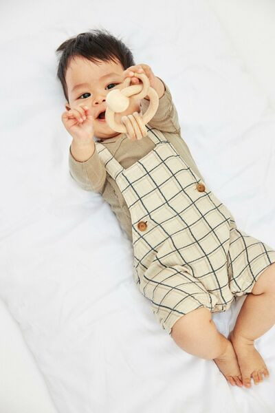 Henry Shorts Overall, Oatmeal