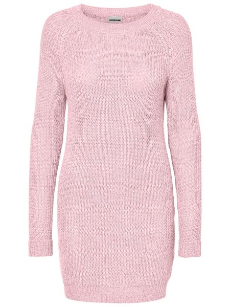Siesta Knit Dress, Barely PInk