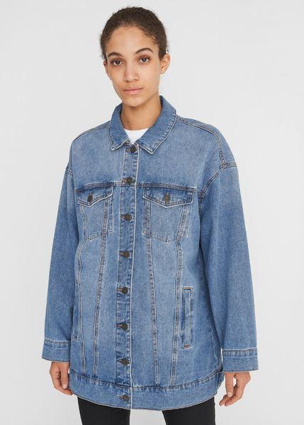 Fiona Denim Jacket, Light Blue