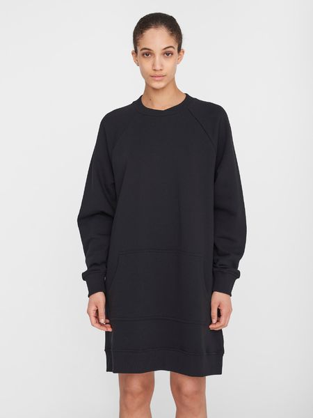 Lupa Kangaroo Dress, Black