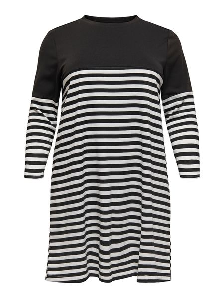 Viol 3/4 Tunic, Black Stripes