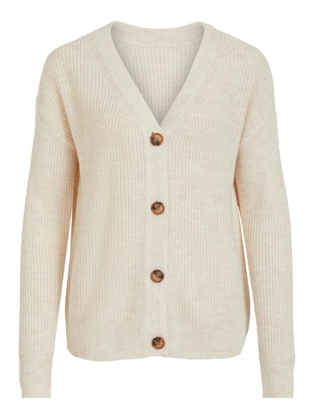 Oktavi Knit Cardigan, Super Light Natural