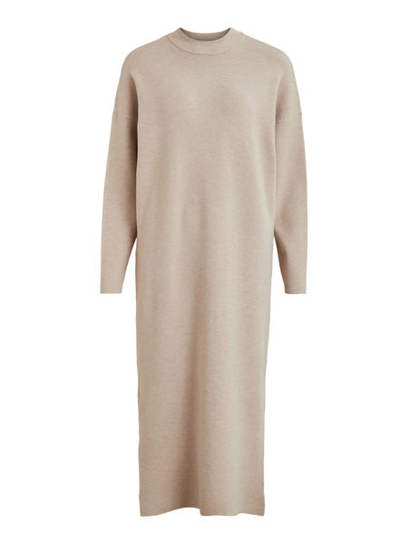 Olivinja Ankle Dress, Natural Melange
