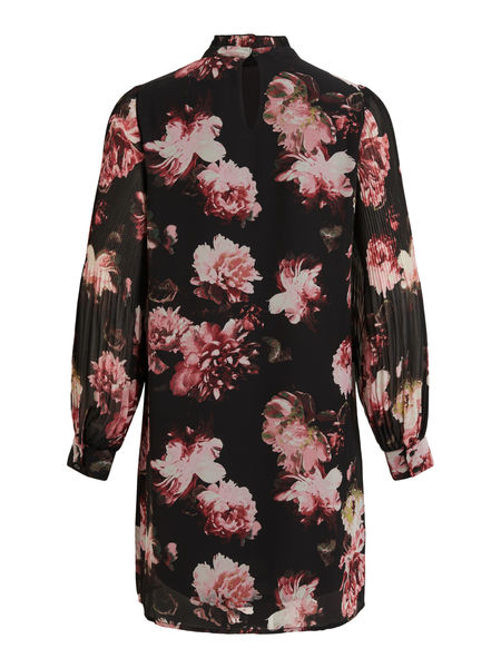 Taffy Dress, Black Flower