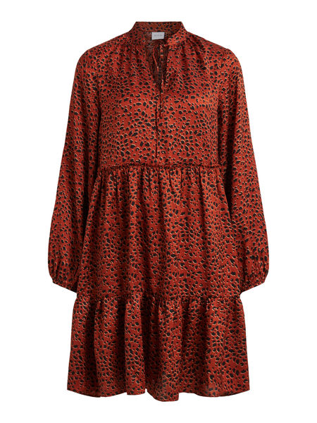 Ramdi Tullan Dress, Burnt Henna