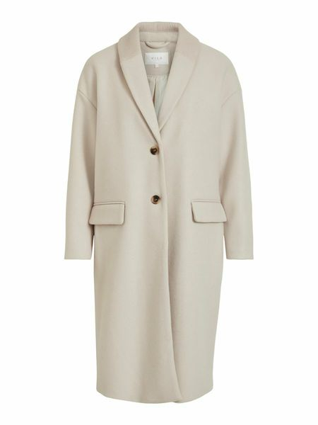 Callee Wool Coat, Birch