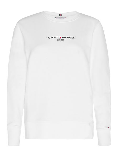 Essential Hilfiger Sweatshirt,  White