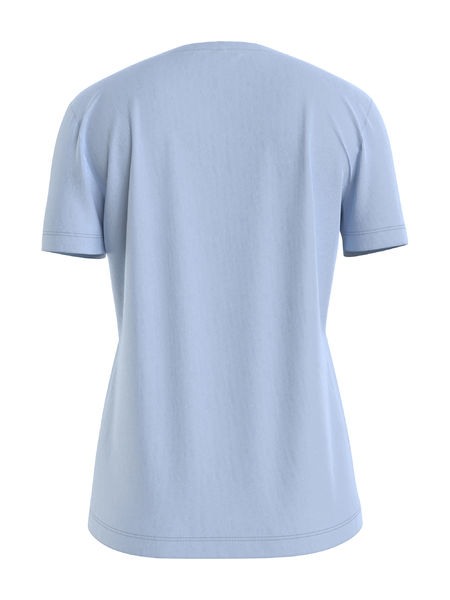New Essential Crew Neck Tee, Breeze Blue